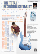 """The Total Beginning Guitarist"" FOR THE ABSOLUTE BEGINNER-MUSIC BOOK/CD-NEW-SALE"