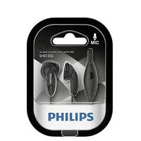 Auriculares botón con micrófono Philips SHE1355 negro Cascos Headphones Iphone