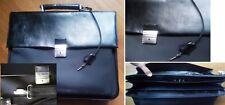 Borsa cartella da lavoroporta documenti, ventiquattr'ore valigetta nera