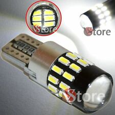2 Veilleuses LED T10 ampoules 30 smd 3014 Canbus BLANC ANTI ERREUR Lampe Xenon