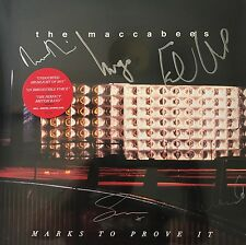 THE MACCABEES MARKS TO PROVE IT Limited SIGNED Vinyl LP