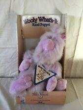 Teddy Ruxpin Puppet. Wooly Whatsit Puppet. RARE MIB