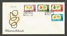PITCAIRN ISLANDS 1982 FRUIT FDC SG,222-225 LOT 5651A