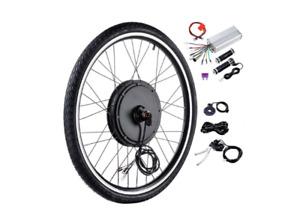 "Ebike Front Rear Wheel Conversion kit 20"" 26"" 48V 1000W Motor Kit"