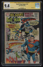 World's Finest Comics #179 CGC 9.4 OW/W Pg Signature Series SS Signed Neal Adams