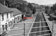 PHOTO  BUILTH ROAD LOW LEVEL RAILWAY STATION RADNORSHIRE 1962 CAMBRIAN RLY MOAT