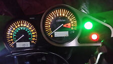 WHITE KAWASAKI zx9r c1 c2 led dash clock conversion kit lightenUPgrade