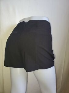 New Forever 21 Casual Women's  Black High Rise Shorts Ladies Medium (M)
