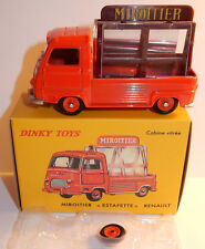 DINKY TOYS ATLAS PICK-UP RENAULT ESTAFETTE MIROITIER ROUGE 1/43 REF 564 BOX bis
