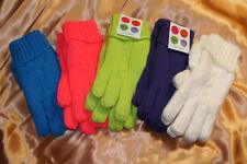 Super warme Handschuhe gefüttert mit Filz für Damen und Kinder einfarbig