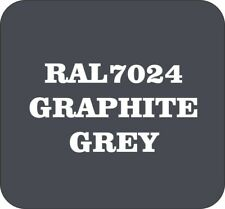 Cellulose Car Body Classic Vintage Paint RAL7024 GRAPHITE GREY Gloss