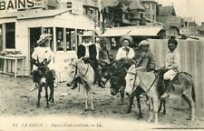 France La Baule - Cavalcade Kids on Donkey old postcard