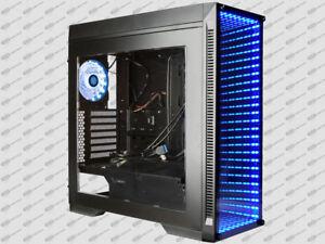Gaming Desktop Intel i7 3.2GHz SSD 250GB RGB PC 32GB 2TB GTX 1080 ti VR