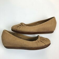 dries van noten womens Size 36.5 brown woven flat Shoes Slip On