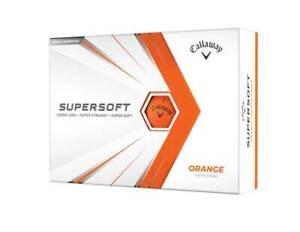 NEW Callaway 2021 Supersoft Golf Balls - Orange - Drummond Golf