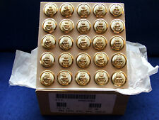 25 X ROYAL NAVY GOLD JACKET BUTTONS JOB LOT NAVAL MILITARY IDEAL FOR VETERANS