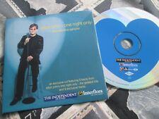 Elton John One Night Only (The Valentine Sampler) Sunday Enhanced UK CD Single
