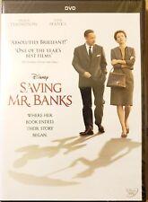 Saving Mr. Banks (DVD, 2014)Tom Hanks, Emma Thompson Brand New Factory Sealed