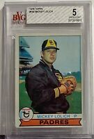 1979 Topps #164 Mickey Lolich Becket BVG 5 Excellent Padres and Detroit Tigers