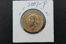 USA - 2007 p ONE DOLLAR GEORGE WASHINGTON PRESIDENTIAL COIN MONEY