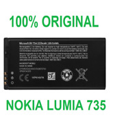 Original Internal Battery For Nokia Lumia 735 BV-T5A Phone Replacement Parts New