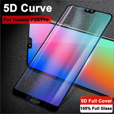 For Huawei P20 Pro/Lite 100% Geniun 5D Temper Glass Screen Film Protector Cover