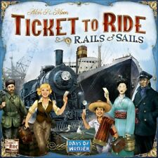 Days of Wonder: Ticket to Ride - Rails & Sails board game (New)