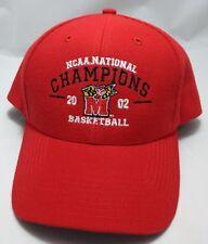 MARYLAND TERRAPINS 2002 NCAA Basketball Champions snapback hat cap adjustable