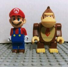 K'NEX Super Mario minifigure lot mario and Donkey Kong