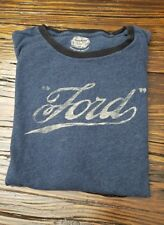 Ford Blue Tee Shirt Men's Size Large Ford Motor Lucky Brand