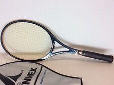 Pro Kennex Blue Ace classic wood tennis racquet case racket rare excellent shape