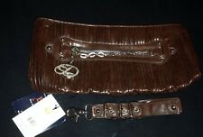 Beyonce Dereon Moto Rock Brown Purse Style 00756 Retail $59.00 NWT Defect