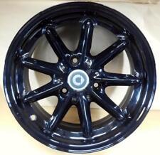 "NEW OEM SMART CAR ForTwo 15"" BLACK FUSION 9 Spoke Rear Wheel 4514011502"