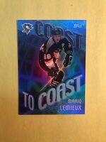 2002-03 Topps Coast To Coast #CC-1 Mario Lemieux Penguins Rainbow Foil Insert