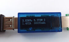 Charger Doctor OLED Display USB Amper Volt Meter power Strom Spannung mess gerät