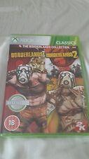 Xbox 360 The Borderlands Collection NUOVO e SIGILLATO