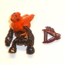 Halo Mega Bloks Figures ~ 2013 Covenant Grunt Spec Ops (Orange) & Needler