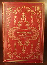 Holy Bible 1853 Full Morocco Leather Gilt Edges Titles Religion Christianity