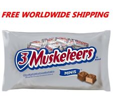 3 Musketeers Minis Milk Chocolate Candy 8.40 Oz FREE WORLDWIDE SHIPPING
