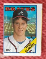 1988 Topps Baseball-Rookie-ERROR CARD #779 Tom Glavine RC MISALIGNED MINT NEW 88