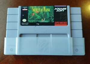 Secret of Mana Super Nintendo SNES Authentic Tested Works