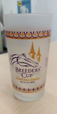 2018 BREEDERS CUP FROSTED GLASS - ONLY 9000 MADE LIMITED EDTION
