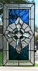 Celtic Cross Rec. Stained Glass Window  (10.25 x 20)