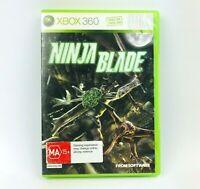 Ninja Blade Microsoft Xbox 360 Game Complete PAL