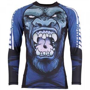 Tatami Bjj Rash Guard Gorilla Smash Long sleeve - Jiu JItsu MMA BJJ