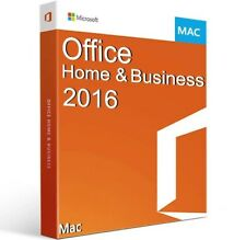 Office Home and Business 2016 for MAC [Online Activation]