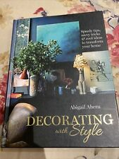 Decorating with Style by Abigail Ahern (Hardback, 2013)