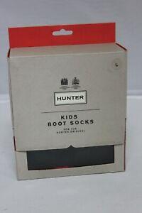 HUNTER Original Kids Boot Socks Size L