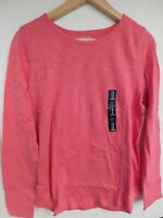 NWT GAP Women's Lightweight Long Sleeve Easy T-Shirt Rose Size XS NEW Free Ship