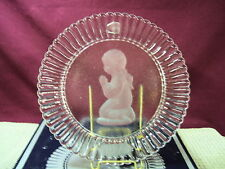 Goebel Annual Crystal Glass Plate First Edition 1978 Nib